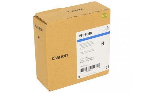Картридж Canon PFI-306 B для плоттера iPF8400/9400. Светло-голубой. 330 мл. Картриджи и расходные материалы