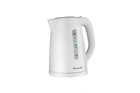 Чайник Maxwell MW-1097 белый 2200 Вт, 1.7 л, пластик Чайники(электро)