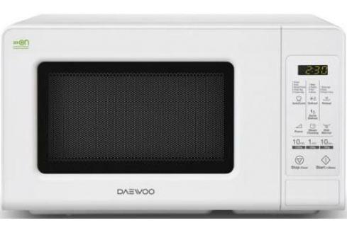 Микроволновая печь DAEWOO KOR-660BW 700 Вт белый Микроволновые печи