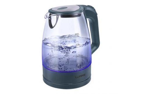 Чайник LUMME LU-138 серый жемчуг 2200 Вт, 2 л, стекло Чайники(электро)