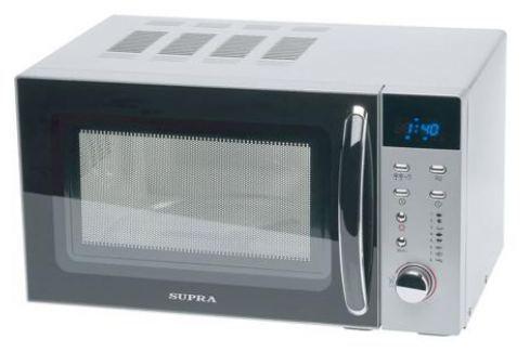 Микроволновая печь Supra 18TS80 700 Вт серебристый/черный Микроволновые печи