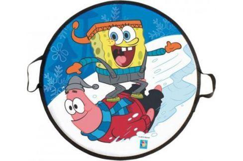 Ледянка 1Toy Губка Боб, 52 см, круглая Санки, снегокаты, тюбинги