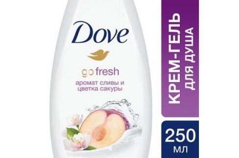 DOVE Крем-гель для душа Слива и цветы сакуры 250 мл Средства гигиены
