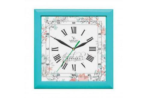 Часы настенные Вега П 3-16-127 Бирюза Часы с радиоприемником