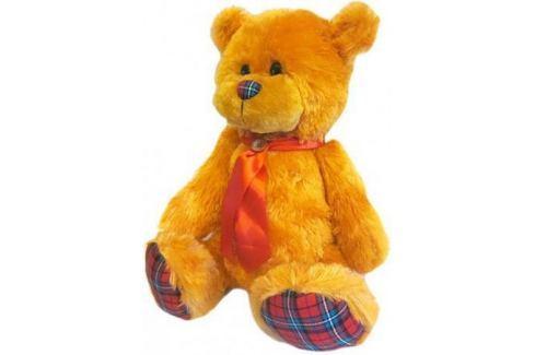 Мягкая игрушка медведь Волшебный мир Мишка Лапочка 45 см рыжий искусственный мех текстиль 7С-1413-Р Игрушки