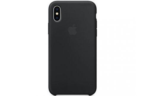Накладка Apple Silicone Case для iPhone X чёрный MQT12ZM/A Сумки