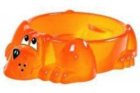 Песочница-бассейн - Собачка (оранжевый) Спортивный инвентарь
