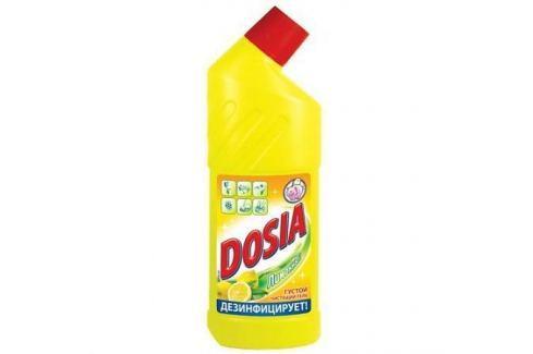 DOSIA Гель Чистящий для сантехники с дезинфицирующим и отбеливающим эффектом Лимон 750мл Хозяйственные товары