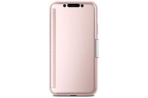 Чехол-книжка Moshi StealthCover для iPhone X розовый 99MO102301 Сумки