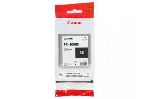 Картридж Canon PFI-106 BK для плоттера iPF6400/6400S/6400SE/6450. Чёрный. 130 мл. Картриджи и расходные материалы