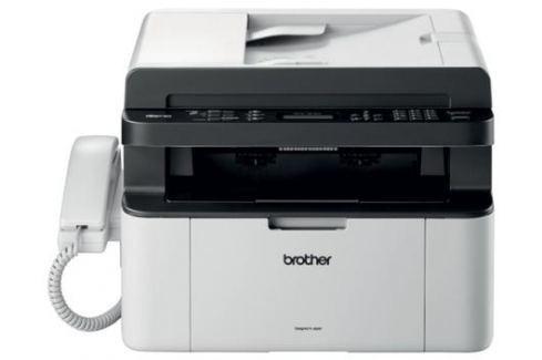 МФУ лазерное Brother MFC-1815R принтер/сканер/копир/факс(+трубка), A4, 20стр/мин, ADF, USB Многофункциональные устройства