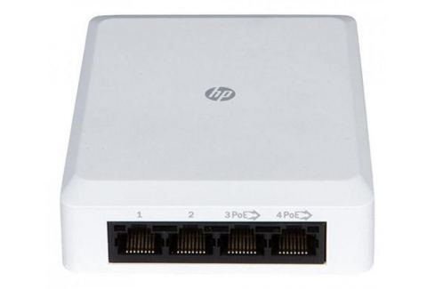 Коммутатор HP NJ5000 5G PoE+ Walljack IntelliJack управляемый 5 портов 10/100/1000Mbps JH237A Сетевые адаптеры/ Хабы/роутеры/маршрутизаторы/коммутаторы
