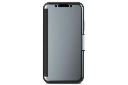 Чехол-кошелек Moshi StealthCover для iPhone X. Материал искусственная кожа/пластик. Цвет серый. Сумки