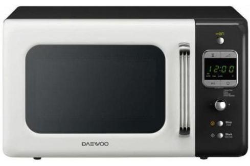 Микроволновая печь DAEWOO KOR-6LBRWB 800 Вт белый чёрный Микроволновые печи
