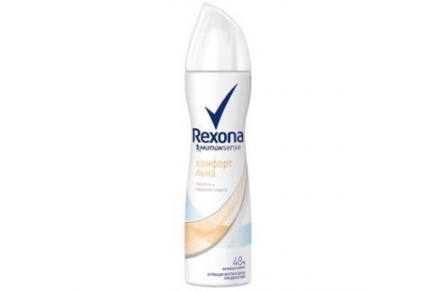 REXONA Антиперспирант аэрозоль женский Комфорт льна 150мл Средства гигиены