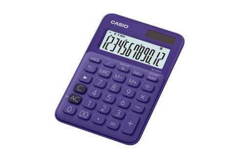 Калькулятор настольный CASIO MS-20UC-PL-S-EC 12-разрядный фиолетовый Калькуляторы