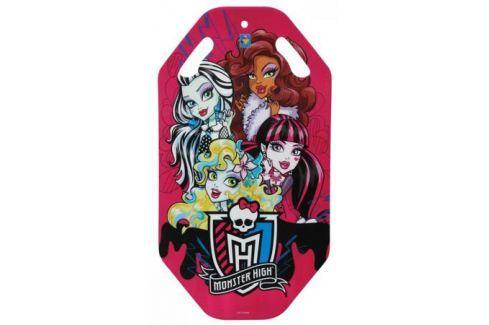 Ледянка 1Toy Monster High до 150 кг пластик рисунок Т56339 Санки, снегокаты, тюбинги