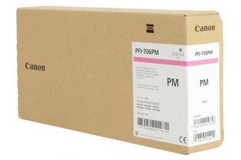 Картридж Canon PFI-706 PM для плоттера iPF8400S/8400/9400S/9400. Фото пурпурный. 700 мл. Картриджи и расходные материалы