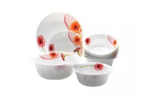 Набор посуды Mayer&Boch 24101 19 предметов белый с рисунком Наборы посуды
