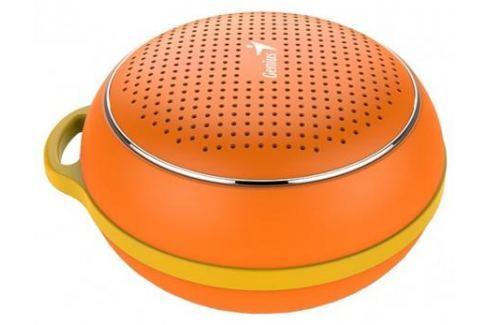 Портативная колонка Genius SP-906BT, Orange (3 Вт, 100 - 20 000 Гц, Bluetooth, USB, батарея) Акустические системы
