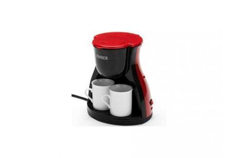 Кофеварка Zimber ZM-10980 450 Вт красный Кофеварки и кофемашины