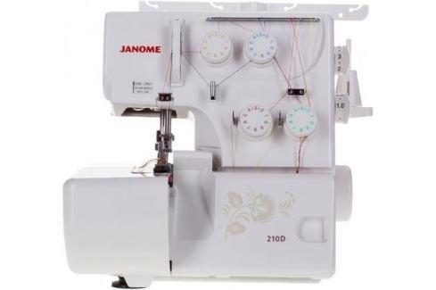 Оверлок Janome 210D белый Швейные машины