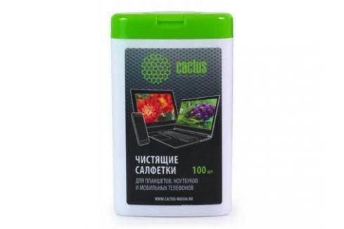Влажные салфетки Cactus CS-T1005 100 шт Чистящие средства