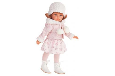 Кукла Munecas Antonio Juan Эльвира зимний образ, рыжая 33 см 2586W Игрушки