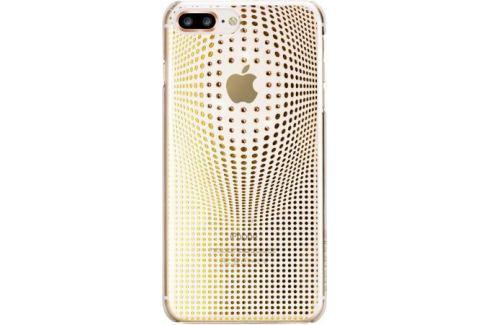 Чехол Bling My Thing для iPhone 8 Plus. Коллекция Warp Deluxe. Цвет золотой. Материал пластик. Сумки