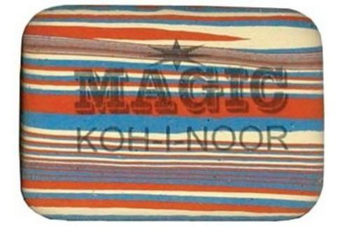 Ластик MAGIC, натуральный каучук Аксессуары