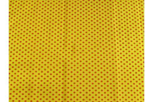 Креп-бумага Koh-I-Noor, желтая с красными точками, 2000х500 мм Бумага