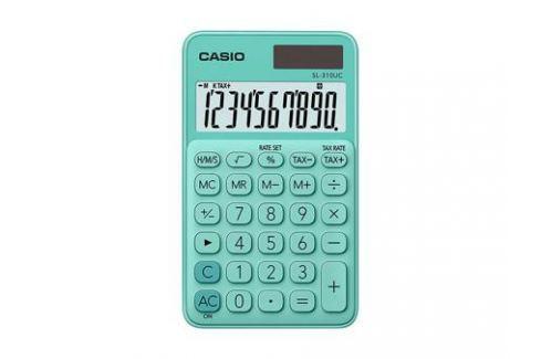 Калькулятор карманный CASIO SL-310UC-GN-S-EC 10-разрядный зеленый Калькуляторы