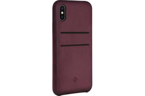 Чехол-накладка Twelve South Relaxed Leather для iPhone X кожа бордовый 12-1738 Сумки
