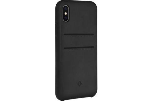 Чехол-накладка Twelve South Relaxed Leather для iPhone X кожа черный 12-1736 Сумки
