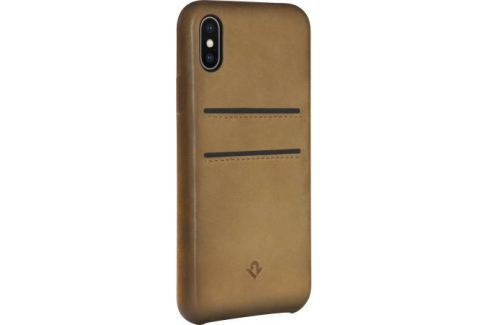 Чехол-накладка Twelve South Relaxed Leather для iPhone X кожа коричневый 12-1737 Сумки