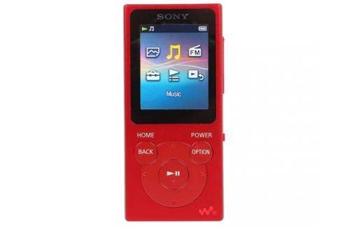 Плеер Sony NW-E394 красный mp3 - плееры