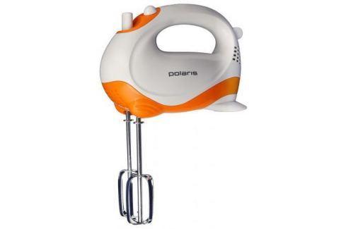 Миксер ручной Polaris PHM 2010 150 Вт белый оранжевый Миксеры