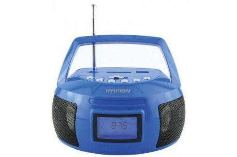 Магнитола Hyundai H-PAS160 синий Аудиомагнитолы