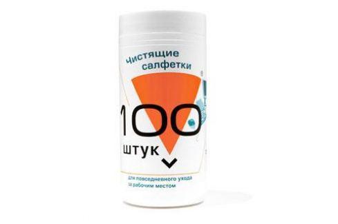 Салфетки для комп. техники в банке, 100 шт, Konoos KBU-100 Чистящие средства