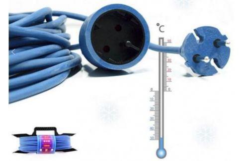 Удлинитель Power Cube PC-B1-F-30-R 1 розетка 30 м синий Сетевые фильтры