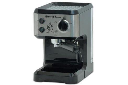 Кофеварка First FA-5476-1, 1050Вт, эспрессо, полуавтомат, капучино, д/молотого, черный Кофеварки и кофемашины