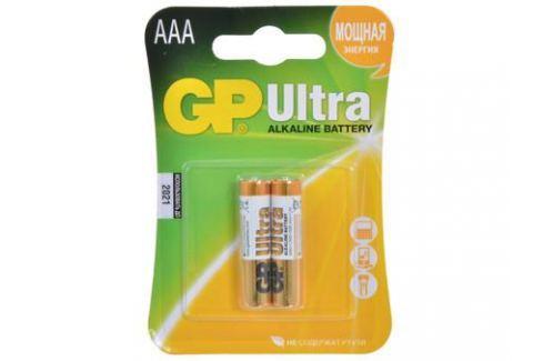 Батарея GP 24AU 2шт. Ultra Alkaline (AAA) Зарядные устройства и аккумуляторы