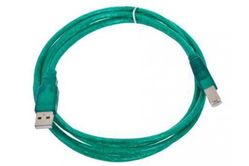 Кабель USB 2.0 AM/BM 1.8m Aopen, соединительный, прозрачная изоляция (ACU201-1.8MTG) Кабели и переходники