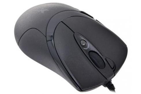 Мышь A4-Tech X-748K, USB (черный) 6 кн, 1 кл-кн, 3200 dpi Мыши