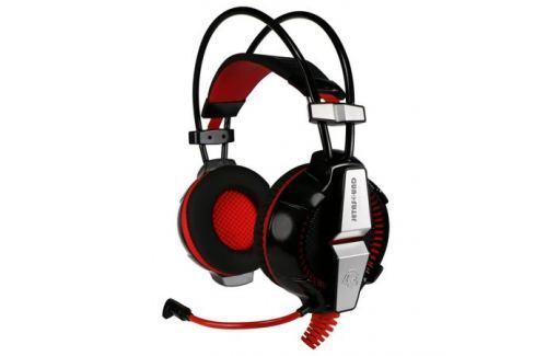 Наушники (гарнитура) Jet.A GHP-400 PRO Black Проводные / Накладные с микрофоном / Черный / 20 Гц - 20 кГц / 112 дБ / USB Микрофоны и наушники