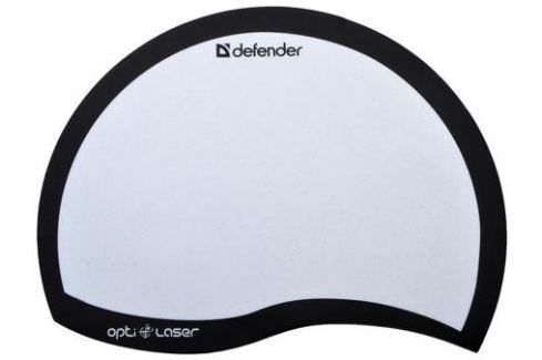 Коврик для мыши Defender пластиковый Ergo opti-laser Black (черный) 215х165х1.2 мм Аксессуары