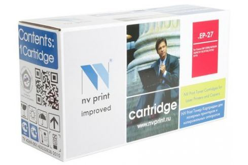 Картридж NV-Print совместимый Canon EP-27 для LBP 3200/MF5630/5650/3110/5730/5750/5770. Чёрный. 2500 страниц. Картриджи и расходные материалы
