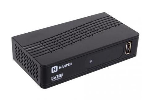 Цифровой телевизионный DVB-T2 ресивер HARPER HDT2-1202 Цифровое телевидение DVB-T