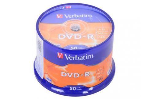 DVD-R Verbatim 4.7Gb 16х 50шт Cake Box Диски, дискеты