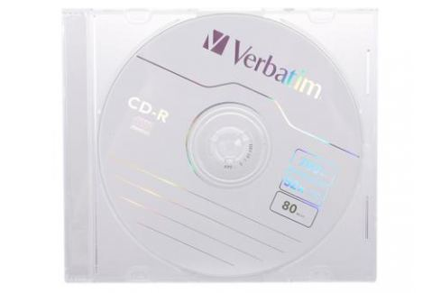 CD-R Verbatim 700Mb 52x Slim Диски, дискеты